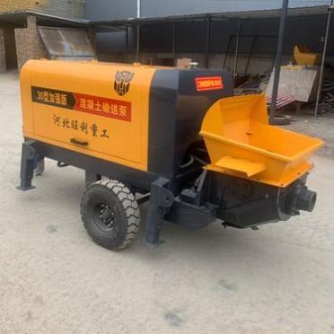 小型混泥土地泵 二次构造泵 细石砂浆输送泵