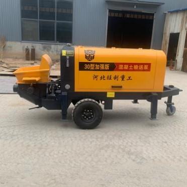 矿用混凝土泵 二次构造柱浇筑泵 砂浆输送泵厂家