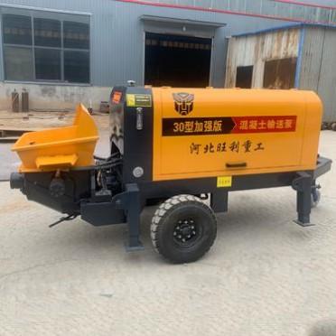 混凝土输送地泵 细石混凝土泵 立式二次构造柱泵