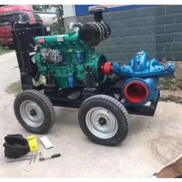 双吸离心泵泵壳 单级双吸离心泵叶轮 润豪泵业 蜗壳式双吸离心泵